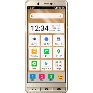 Sharp Simple Smartphone 5